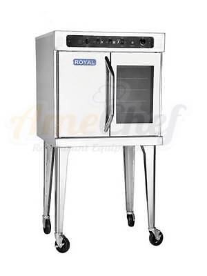 New Commercial Electric Convection Oven Full Size Single Deck Royal Reco-1