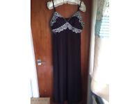 Glitzy Dress Purple Size 18-22 Stretchy