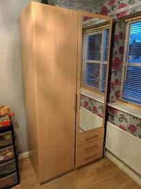 Selling wardrobe for £25 | Will need to disassemble and take it yourself.