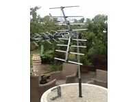 32 element, wide-band, digital, TV aerial for stable reception.