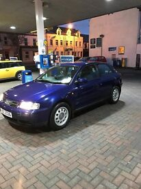 AUDI A3 1.6(petrol) WITH FULL SERVICE HISTORY, RECEIPTS, OLD MOT'S etc