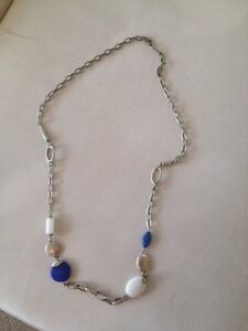 Costume jewellery - Necklace blue stones Kangaroo Point Brisbane South East Preview