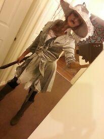 Costume pirate treasure hallowen