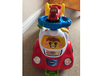 Immaculate Condition Vtech Toot Toot Drivers Ride On, rrp £39.99