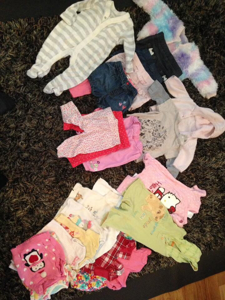 Baby Girl Bundles of Clothes 0-3 and up to 3 month sizes - Approx 40 items or two bundles of 20