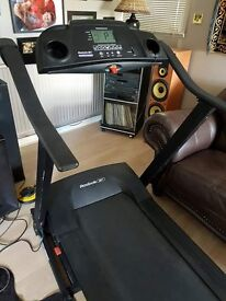 Treadmill Reebok REM11300 in excellent working order (folds for easy storage)