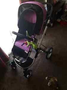Baby bee purple pram Minchinbury Blacktown Area Preview