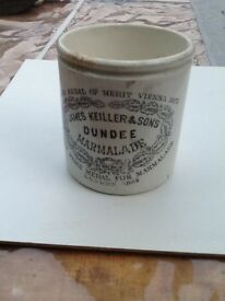 Marmalade jar old