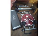 exercise gym equipment rower Abs stepper