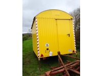 Wagon. Ready for conversion into shepherds hut, living wagon, catering trailer, garden office etc.
