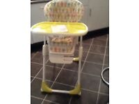 Joie Mimzy high/low chair
