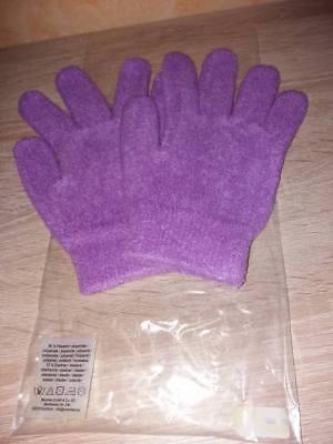 Feuchtigkeitsspendende Handschuhe Lavendel (Wellness Handschuhe Feuchtigkeitsspendende Gelhandschuhe m. Lavendel spröde Hand)