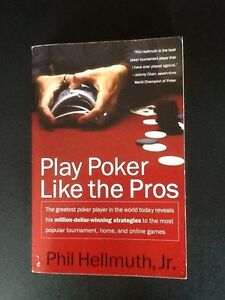 Play Poker Like the Pros -