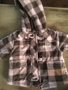 0-3 month old coats