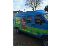 TURN HEADS AND ARRIVE IN THE SCOOBY DOO MYSTERY MACHINE FOR HIRE