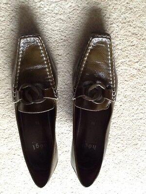 Ladies Shoes,size 5.5,Leather,HOGL