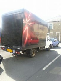 Home & office removals or single items: 1 or 2 men team