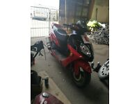 2009 Boation 125 moped with 12 months mot!