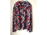 Plus size 22 cotton floral top UNWORN by DASH