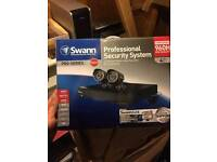 Swann 4 cctv cameras and recorder