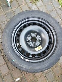 215/55R16 Brand new Wheel and Tyre brand new tyre never been used