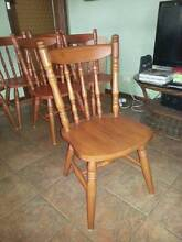 Solid timber Dining chairs Hampton East Bayside Area Preview