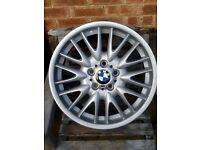 """BMW 18"""" mv1 alloy wheel refurbed"""