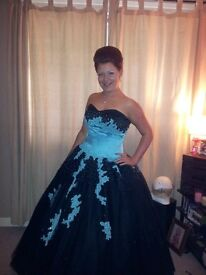 Prom Dress - Custom Made Dress Size 12