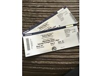 Britney Spears: Piece of me August 18th 2 tickets