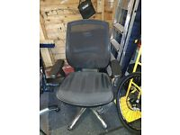 designer office chair with lumbar support