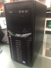 Dell Poweredge T110 ii - Xeon Quadcore E3 - 1220 V2 @ 3.10 GHz - 8GB RAM -320GB HDD