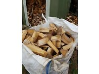 Fully seasoned logs for sale