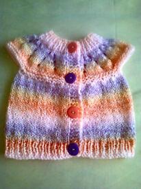 Baby Handknitted Cardigan NEW