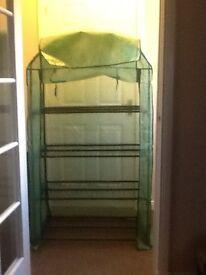 4 tier grow bag rack and cover