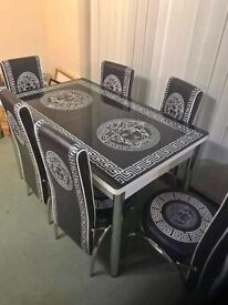 SALE ON BRAND!! NEW TURKISH TABLE😎 TABLE COMES WITH 4 AND 6 CHAIRS😍GET IT NOW