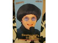 60s BEATLES / MOD FANCY DRESS WIG GREAT FOR PARTY OR STAG DO