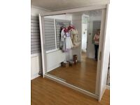 🔥🔥🎁Hot Sale On Brand New Chicago Fully Mirror Sliding Door Wardrobe🔥😍🚛 **Cash On Delivery**