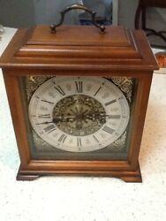 Vintage Westminster Chime Franz Hermle Mantel Clock
