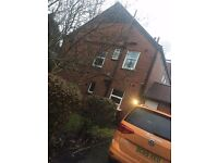 Double room available in 7 bedroom 8 bathroom large modern student home