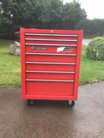 SNAP ON roll cab like new