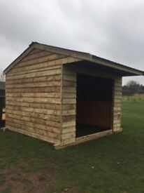 12ft X 12ft Field shelter , log store , horse stable , lean too! NO VAT!!