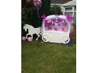 Candy cart hire £55 without seeets £85 with sweets stunning set up free All Ocassions