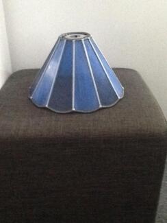 Blue Tiffany Leadlight Light Fitting Bentleigh Glen Eira Area Preview