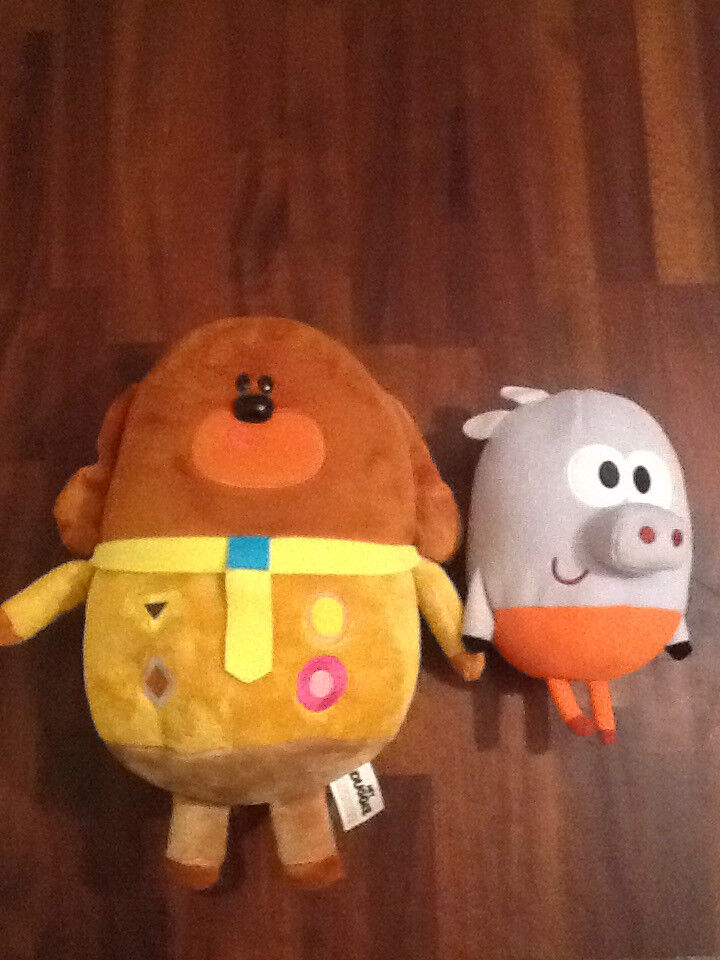 Talking Hey Duggee and Roly