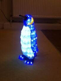 Lit up penguin