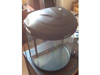 Boyu BYG 26 litre convex aquarium with built in filter Good Condition