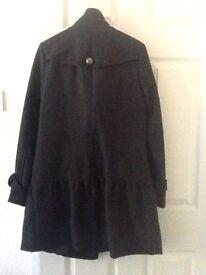 Ladies atmosphere trench type coat size 12
