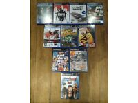 10 boxed original PS2 games NOW ONLY £20