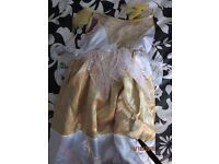 girls reversible good witch /bad witch fancy dress outfit age 2/4 years party or world book day