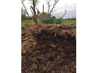 Top quality well-rotted organic horse manure compost (3yrs old!)
